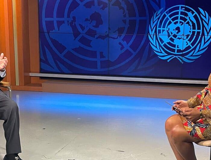 ONU Info/Leah Mushi Assumpta Massoi, d'ONU Info, interroge le Secrétaire général António Guterres.