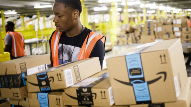 The Amazon group wants to hire more than 150,000 people