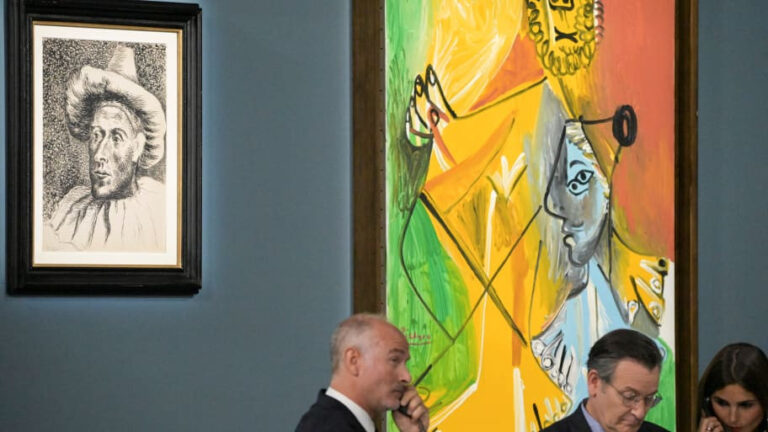 Picasso's paintings reach record highs in Las Vegas