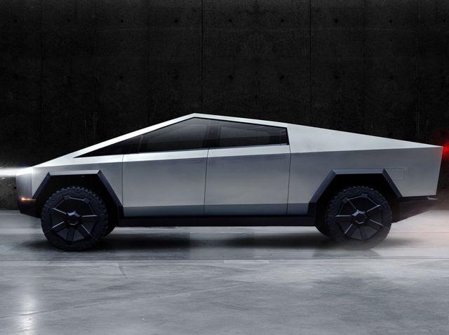 """the new Tesla """"Cybertruck"""" looks incredible"""
