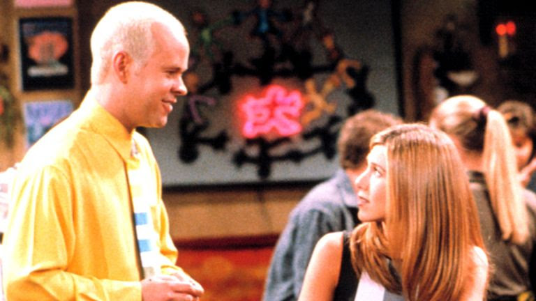 """James Michael Tyler leaves his"""" friends"""" in distress"""