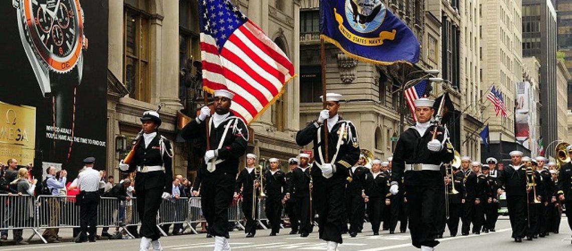 La parade du Columbus Day à New-York.