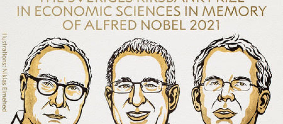 Les prix Nobel d'économie 2021@Royal Sweden Academy of sciences